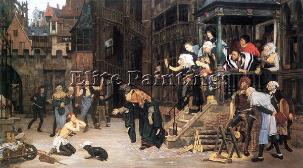 TISSOT THE RETURN OF THE PRODIGAL SON ARTIST PAINTING REPRODUCTION HANDMADE OIL
