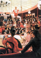 TISSOT THE SPORTING WOMEN ARTIST PAINTING REPRODUCTION HANDMADE OIL CANVAS REPRO