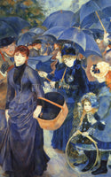 RENOIR THE UMBRELLAS ARTIST PAINTING REPRODUCTION HANDMADE OIL CANVAS REPRO WALL