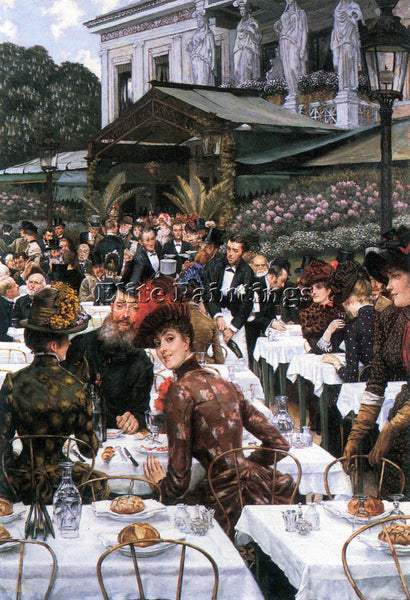 TISSOT THE WOMEN OF THE ARTIST ARTIST PAINTING REPRODUCTION HANDMADE OIL CANVAS