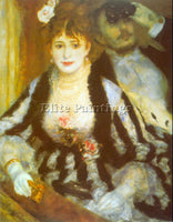 RENOIR THEATRE BOX ARTIST PAINTING REPRODUCTION HANDMADE CANVAS REPRO WALL DECO