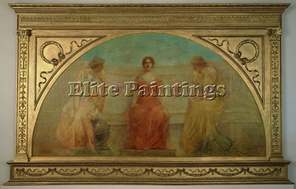 THOMAS WILMER DEWING COMMERCE AND AGRICULTURE BRINGING WEALTH TO DETROIT ARTIST