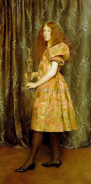 THOMAS COOPER GOTCH HEIR TO ALL THE AGES ARTIST PAINTING REPRODUCTION HANDMADE