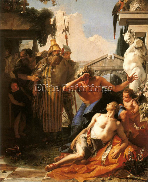 GIOVANNI BATTISTA TIEPOLO THE DEATH OF HYACINTH ARTIST PAINTING REPRODUCTION OIL