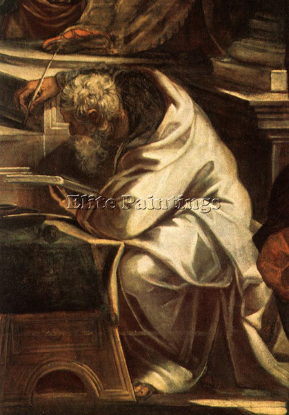 JACOPO ROBUSTI TINTORETTO CHRIST BEFORE PILATE DETAIL1 ARTIST PAINTING HANDMADE