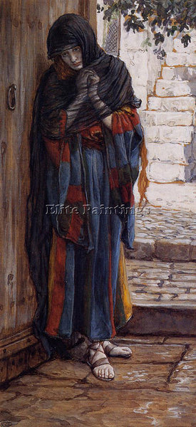 JAMES JACQUES-JOSEPH TISSOT THE REPENTANT MAGDALENE ARTIST PAINTING REPRODUCTION