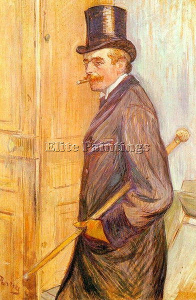 HENRI DE TOULOUSE-LAUTREC LOUIS PASCAL ARTIST PAINTING REPRODUCTION HANDMADE OIL
