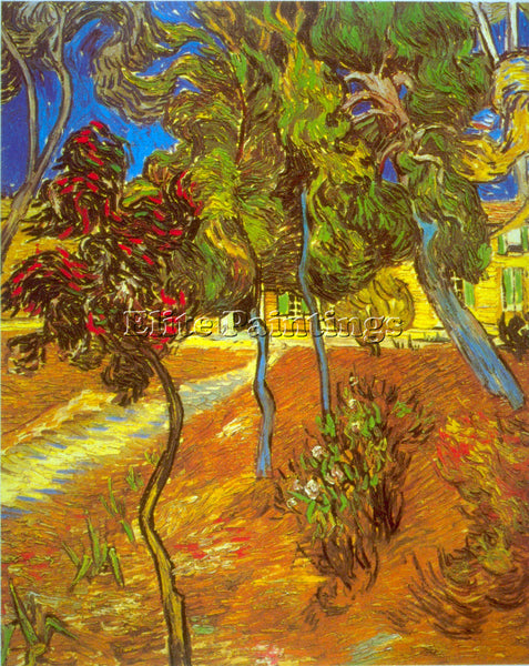 VAN GOGH TREES ARTIST PAINTING REPRODUCTION HANDMADE OIL CANVAS REPRO WALL  DECO