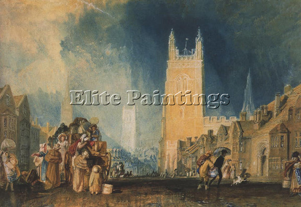JOSEPH MALLORD WILLIAM TURNER STAMFORD LINCOLNSHIRE ARTIST PAINTING REPRODUCTION