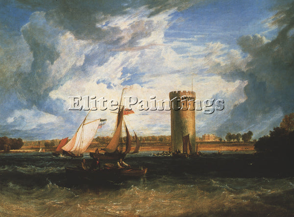 JOSEPH MALLORD WILLIAM TURNER TABLEY THE SEAT OF SIR J F LEICESTER REPRODUCTION