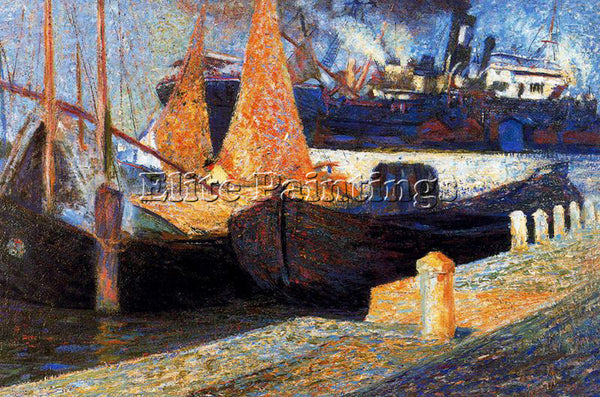UMBERTO BOCCIONI BOCCI52 ARTIST PAINTING REPRODUCTION HANDMADE CANVAS REPRO WALL