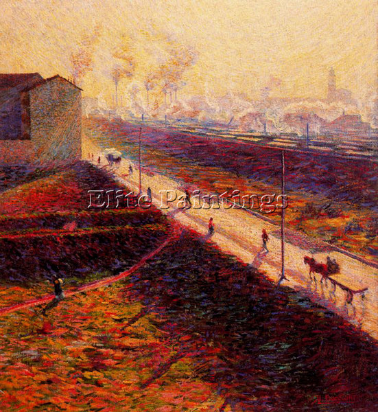 UMBERTO BOCCIONI BOCCI30 ARTIST PAINTING REPRODUCTION HANDMADE CANVAS REPRO WALL