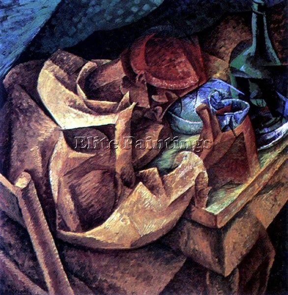 UMBERTO BOCCIONI BOCCI42 ARTIST PAINTING REPRODUCTION HANDMADE CANVAS REPRO WALL