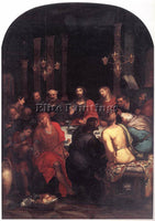 BELGIAN VEEN OTTO VAN THE LAST SUPPER ARTIST PAINTING REPRODUCTION HANDMADE OIL