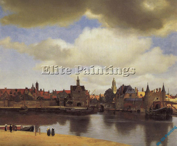 VERMEER VERM12 ARTIST PAINTING REPRODUCTION HANDMADE OIL CANVAS REPRO WALL  DECO