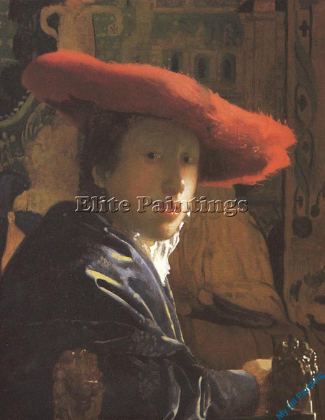 VERMEER VERM22 ARTIST PAINTING REPRODUCTION HANDMADE OIL CANVAS REPRO WALL  DECO