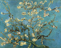 VAN GOGH BRANCHES WITH ALMOND BLOSSOM ARTIST PAINTING REPRODUCTION HANDMADE OIL