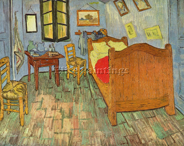 VAN GOGH S BEDROOM ARTIST PAINTING REPRODUCTION HANDMADE CANVAS REPRO WALL DECO