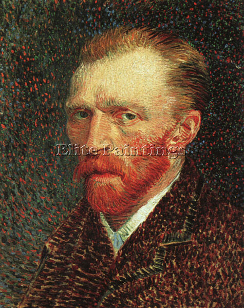 VINCENT VAN GOGH SELF PORTRAIT ARTIST PAINTING REPRODUCTION HANDMADE OIL CANVAS