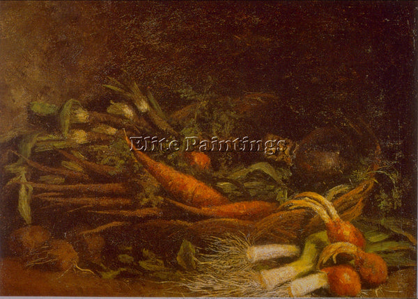 VAN GOGH VEGETABLES ARTIST PAINTING REPRODUCTION HANDMADE CANVAS REPRO WALL DECO