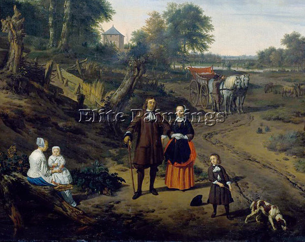 VELDE ADRIAEN VAN DE A 67FAMDET ARTIST PAINTING REPRODUCTION HANDMADE OIL CANVAS