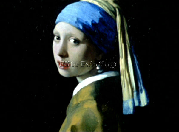 JAN VERMEER  ARTIST PAINTING REPRODUCTION HANDMADE OIL CANVAS REPRO WALL  DECO