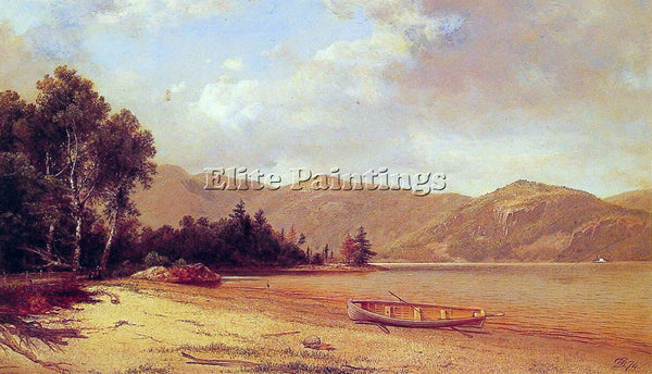 DAVID JOHNSON VIEW OF DRESDEN LAKE GEORGE ARTIST PAINTING REPRODUCTION HANDMADE