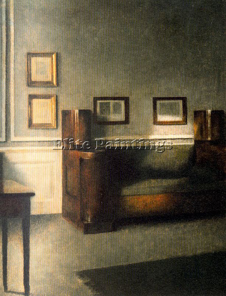 VILHELM HAMMERSHOI HAMM13 ARTIST PAINTING REPRODUCTION HANDMADE OIL CANVAS REPRO