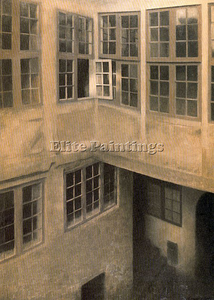 VILHELM HAMMERSHOI HAMM17 ARTIST PAINTING REPRODUCTION HANDMADE OIL CANVAS REPRO