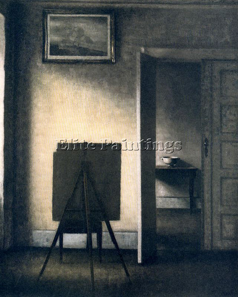 VILHELM HAMMERSHOI HAMM20 ARTIST PAINTING REPRODUCTION HANDMADE OIL CANVAS REPRO