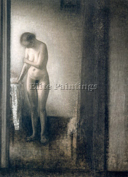 VILHELM HAMMERSHOI HAMM24 ARTIST PAINTING REPRODUCTION HANDMADE OIL CANVAS REPRO