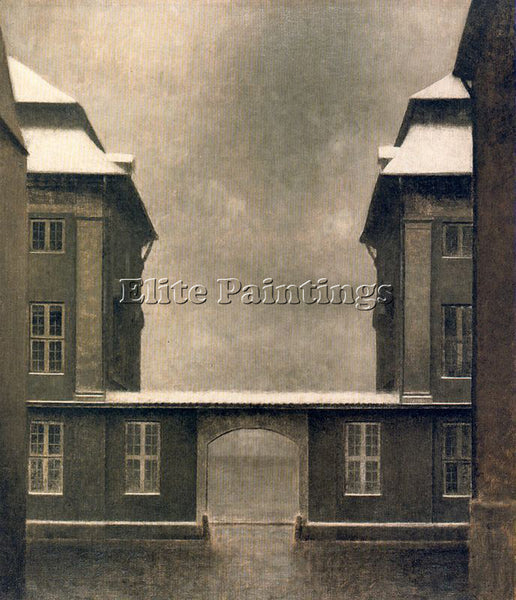 VILHELM HAMMERSHOI HAMM26 ARTIST PAINTING REPRODUCTION HANDMADE OIL CANVAS REPRO