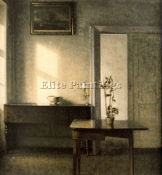 VILHELM HAMMERSHOI HAMM30 ARTIST PAINTING REPRODUCTION HANDMADE OIL CANVAS REPRO