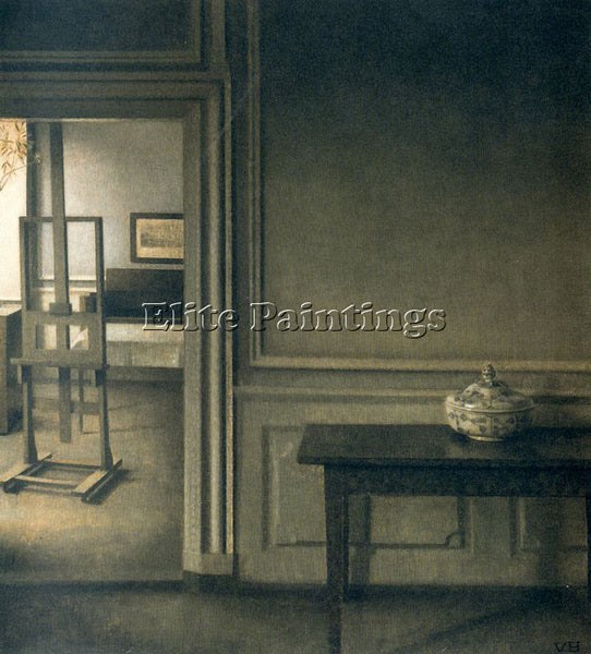 VILHELM HAMMERSHOI HAMM41 ARTIST PAINTING REPRODUCTION HANDMADE OIL CANVAS REPRO