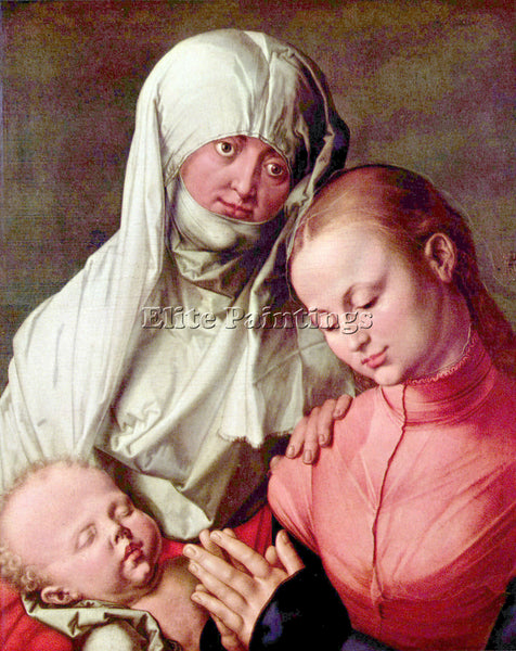 DURER VIRGIN AND CHILD WITH ST ANNE ARTIST PAINTING REPRODUCTION HANDMADE OIL