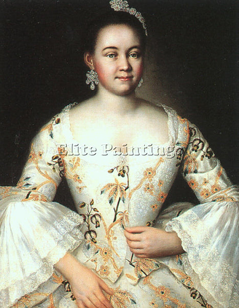 RUSSIAN VISHNYAKOV IVAN RUSSIAN 1699 1761 ARTIST PAINTING REPRODUCTION HANDMADE