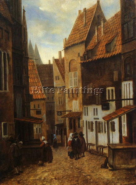 DUTCH VREL JACOBUS DUTCH ACTIVE 1654 1662 2 ARTIST PAINTING HANDMADE OIL CANVAS