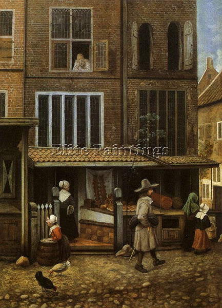 DUTCH VREL JACOBUS DUTCH ACTIVE 1654 1662 ARTIST PAINTING REPRODUCTION HANDMADE