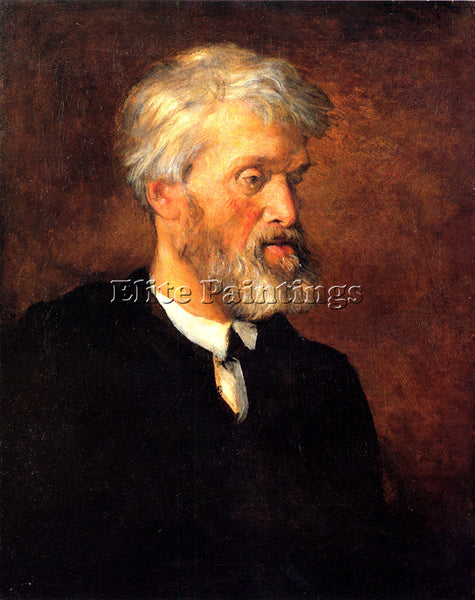 WATTS GEORGE FREDERICK  PORTRAIT OF THOMAS CARLYLE ARTIST PAINTING REPRODUCTION