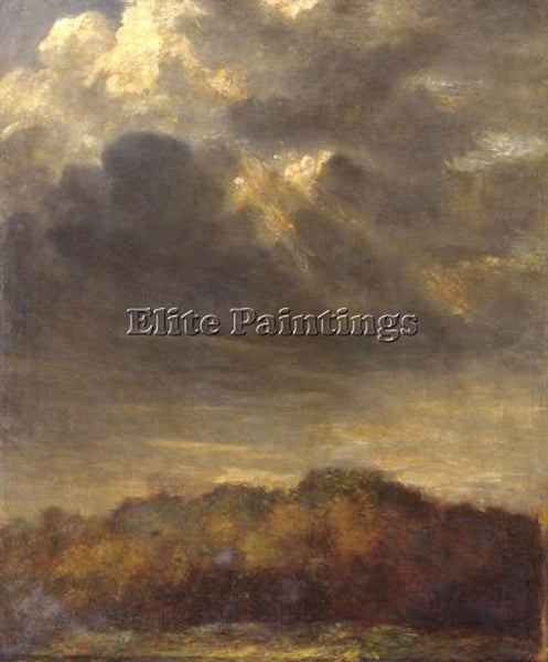 WATTS GEORGE FREDERICK  STUDY OF CLOUDS C1890 1900 ARTIST PAINTING REPRODUCTION