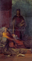 WATTS GEORGE FREDERICK  THE MESSENGER C1884 5 ARTIST PAINTING REPRODUCTION OIL