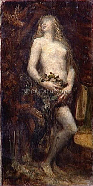 WATTS GEORGE FREDERICK  THE TEMPTATION OF EVE ARTIST PAINTING REPRODUCTION OIL