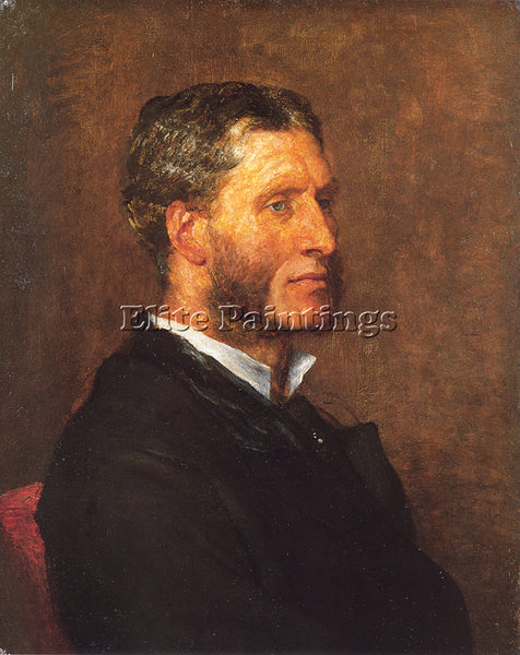 WATTS GEORGE FREDERICK MATTHEW ARNOLD ARTIST PAINTING REPRODUCTION HANDMADE OIL