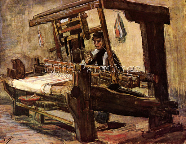 VAN GOGH WEAVER2 ARTIST PAINTING REPRODUCTION HANDMADE OIL CANVAS REPRO WALL ART