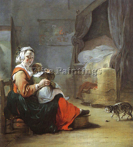 DUTCH WEENIX JEAN BAPTISTE DUTCH 1621 1660 ARTIST PAINTING REPRODUCTION HANDMADE