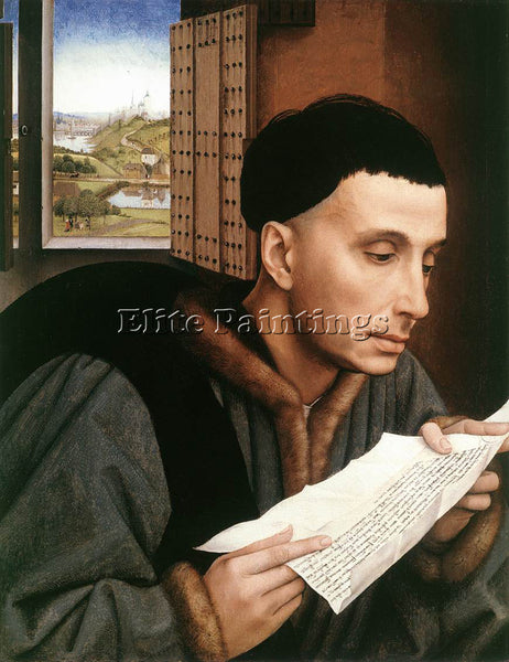 VAN DER WEYDEN ST IV ARTIST PAINTING REPRODUCTION HANDMADE OIL CANVAS REPRO WALL