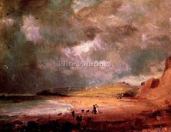 JOHN CONSTABLE WEYMOUTH BAY2 ARTIST PAINTING REPRODUCTION HANDMADE CANVAS REPRO