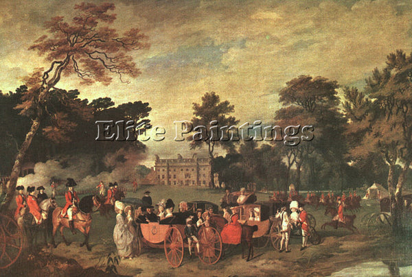 BRITISH WHEATLEY FRANCIS ENGLISH 1747 1801 ARTIST PAINTING REPRODUCTION HANDMADE