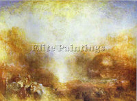 WILLIAM TURNER MERCURY SENT TO ADMONISH AENEAS ARTIST PAINTING REPRODUCTION OIL