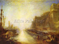 WILLIAM TURNER REGULUS ARTIST PAINTING REPRODUCTION HANDMADE CANVAS REPRO WALL
